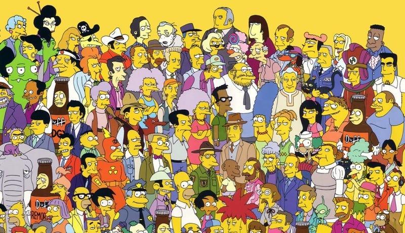 Illustration for article titled Qué personaje secundario ha dicho más palabras en las 26 temporadas de Los Simpson