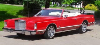 Illustration for article titled For $21,995, This 1978 Lincoln Mark V Is Baroque, But Don't Fix It