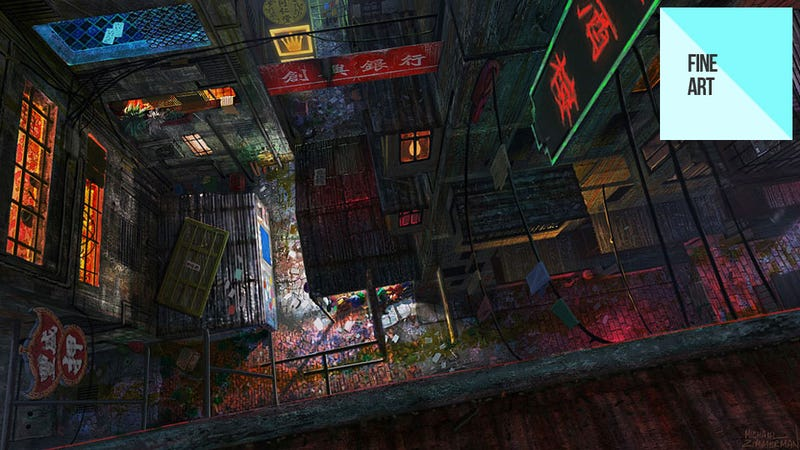 Illustration for article titled This Beautiful Art is From...Call of Duty: Black Ops? Huh?