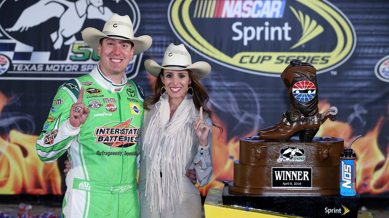 use our generic kyle busch post race statement for future nascar wins. Black Bedroom Furniture Sets. Home Design Ideas