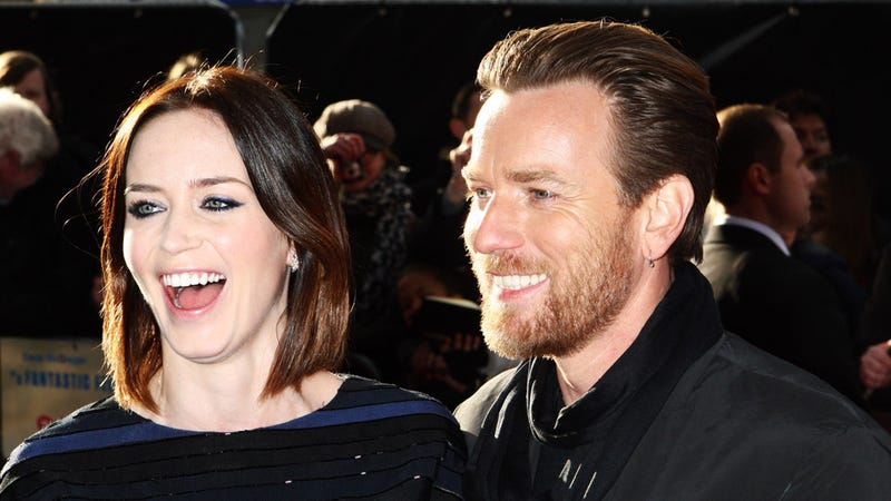 Emily Blunt and Ewan McGregor Are Havin' a Laugh