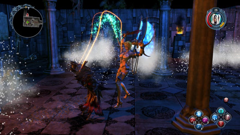 Illustration for article titled Sacred 2 Looks Fine On The PlayStation 3
