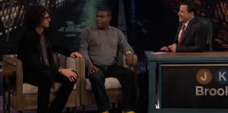 Howard Stern and Tracy Morgan on Jimmy Kimmel Live! (ABC)