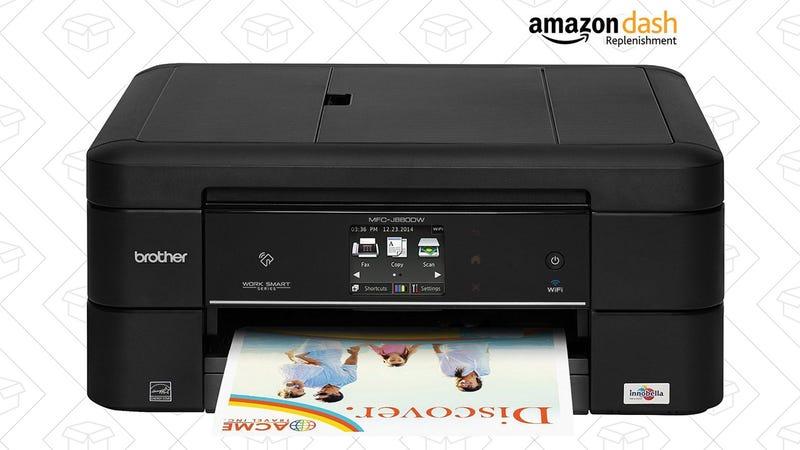 Brother MFC-J880DW Wireless Inkjet Printer, $75