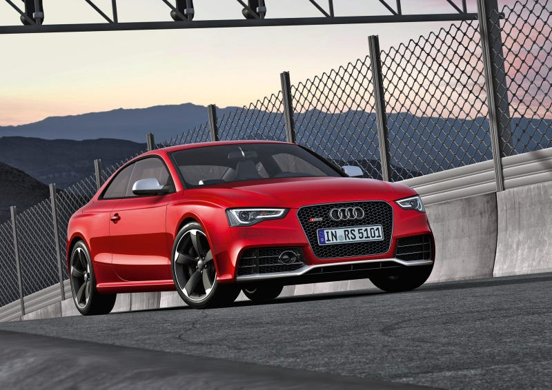 Illustration for article titled 2012 Audi RS5: Aluminum und more awesome