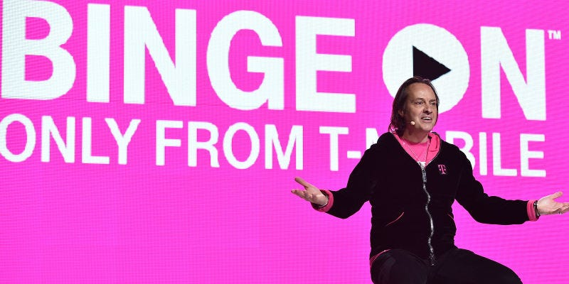 Illustration for article titled T-Mobile CEO John Legere Goes on Curse-Filled Hate Rant Against Electronic Frontier Foundation