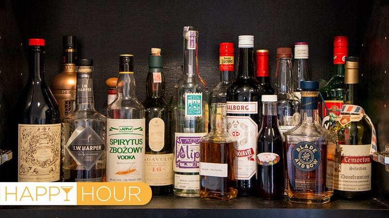 Illustration for article titled The 18 Weirdest Things in My Liquor Cabinet, Ranked By Weirdness