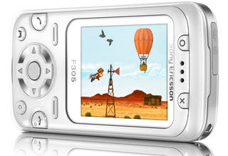 """Illustration for article titled Sony Ericsson F305 Motion Gaming Phone is """"Fun and Entertainment"""""""