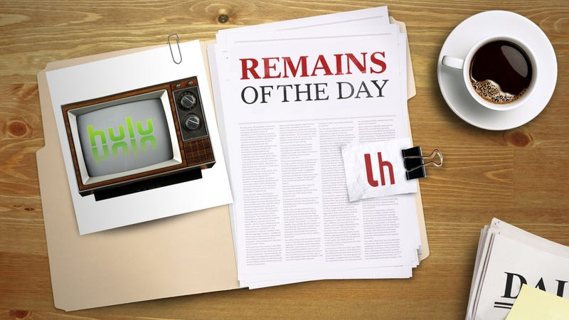 Illustration for article titled Remains of the Day: Hulu Reportedly Developing Internet TV Service