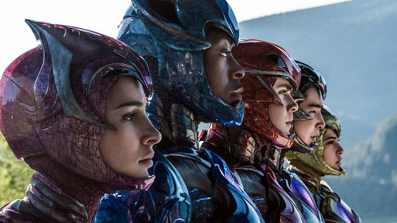 Illustration for article titled Get a Closer Look at the Weird Texture of the Power RangersMovie Uniforms