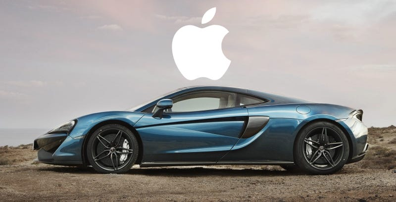 Illustration for article titled Apple Is Definitely Not Buying McLaren, McLaren Says