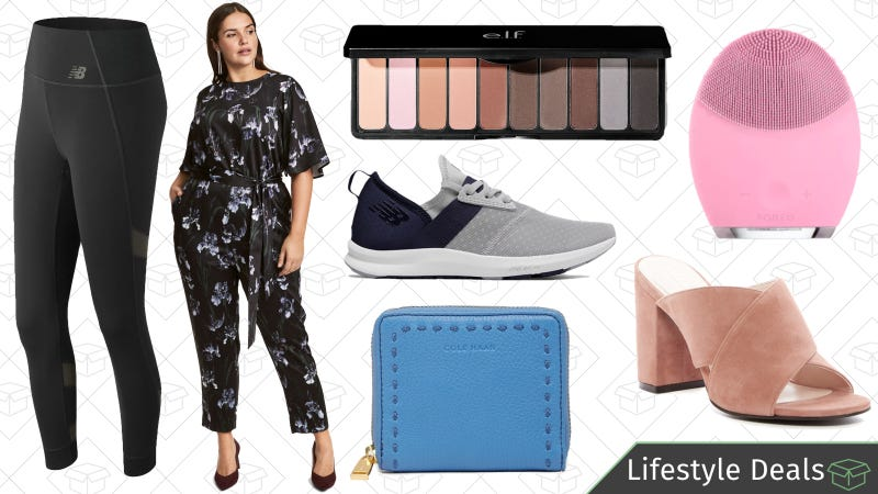 Illustration for article titled Tuesday's Best Lifestyle Deals: e.l.f. Cosmetics, New Balance, Cole Haan, and More