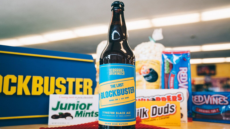 Illustration for article titled America's only remaining Blockbuster store gets its own beer