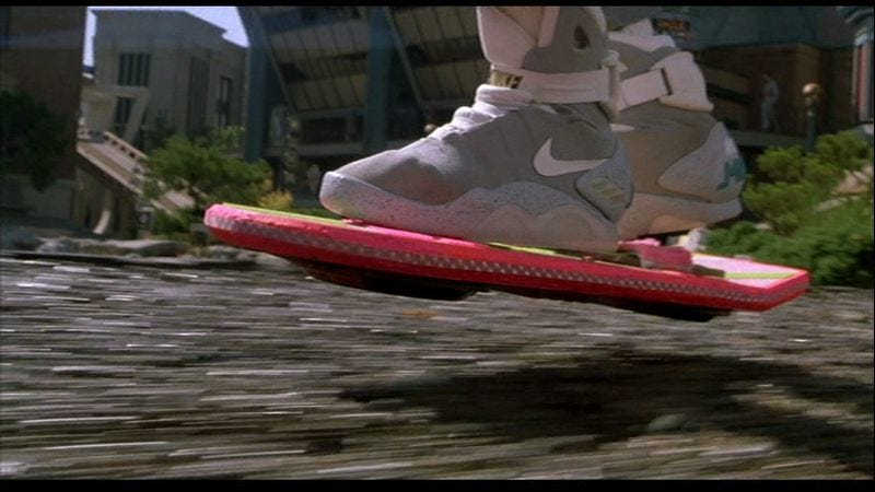 Illustration for article titled Get Involved, Internet: Help develop the Back To The Future hoverboard (for real this time)