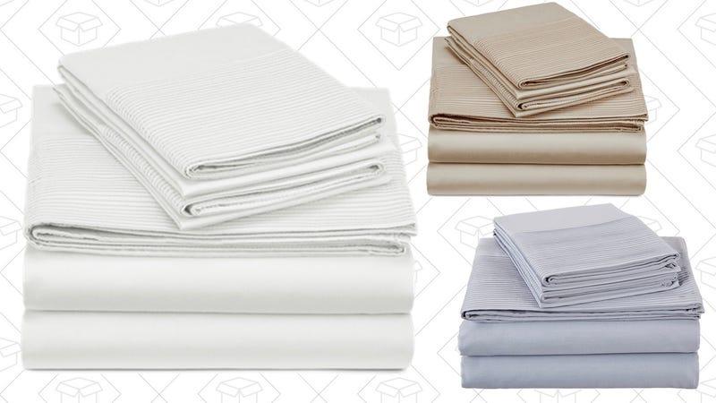Pinzon 400-Thread-Count Egyptian Cotton Sheet Sets | Amazon