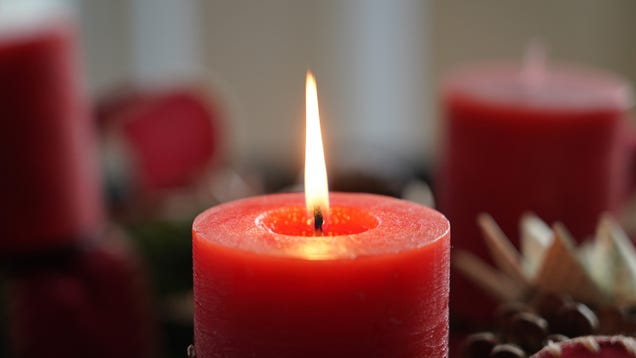 Candles Recalled For Presenting Fire Hazard