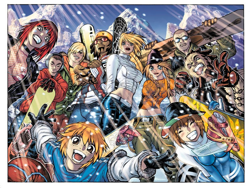 Illustration for article titled Where the Hell Did My Snowboarding Games Go?