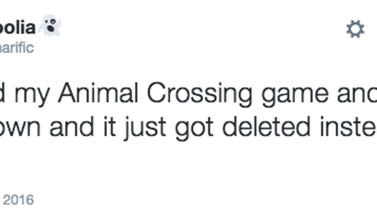 Animal Crossing Players Are Accidentally Deleting Their Towns With