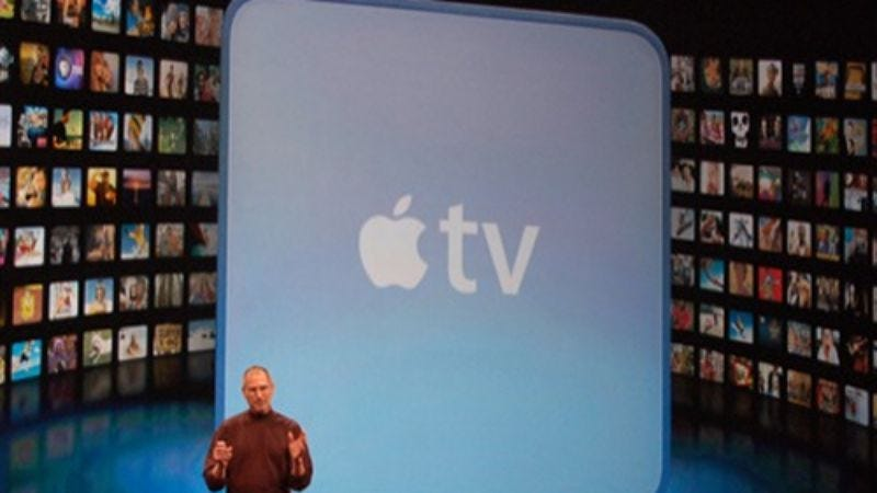 Illustration for article titled Apple reportedly in talks with TV networks about offering monthly subscriptions