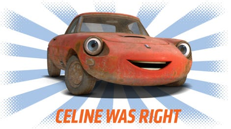 This Disturbing Theory Explains Pixars Cars - Cars cars