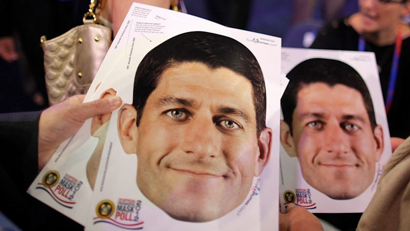 Illustration for article titled Paul Ryan Is Running for Vice President and Scariest Halloween Costume