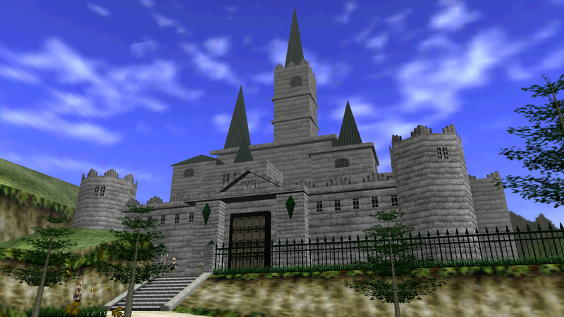 Illustration for article titled You Probably Wouldn't Be Able To Afford Hyrule Castle In Real Life