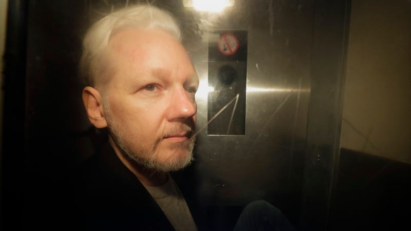 WikiLeaks founder Julian Assange on May 1, 2019