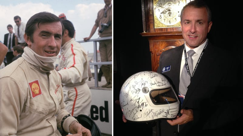 Illustration for article titled How Racing Legend Jackie Stewart Made This Fan's Dream Come True