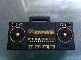 Illustration for article titled The Littlest Def Jam Rapstar Boom Box Flashdrive