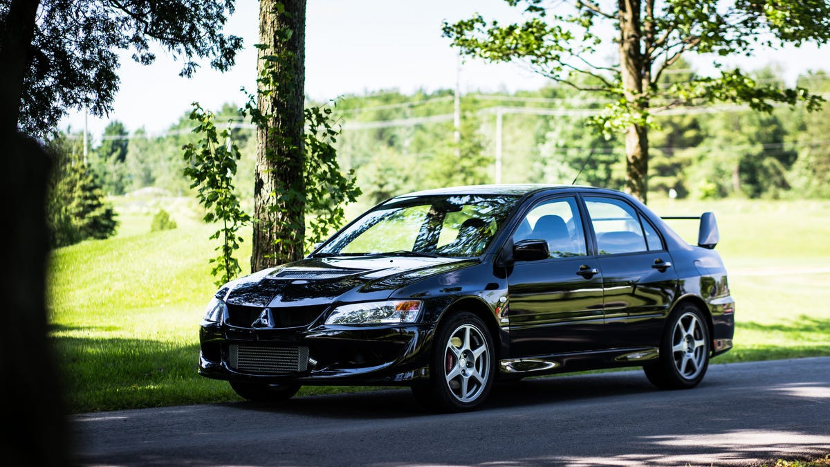 The Mitsubishi Lancer Evolution VIII Is The Kind Of Crazy No