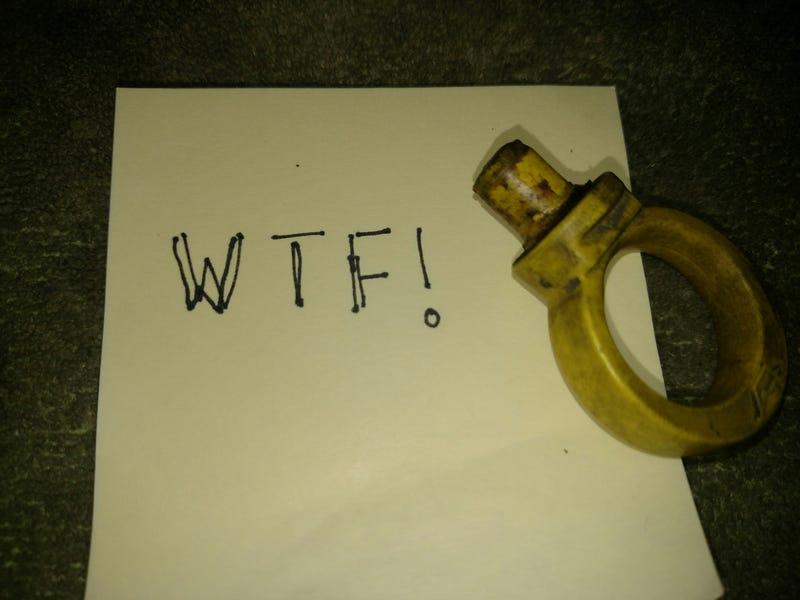 Illustration for article titled Oil Dipstick Broke Off