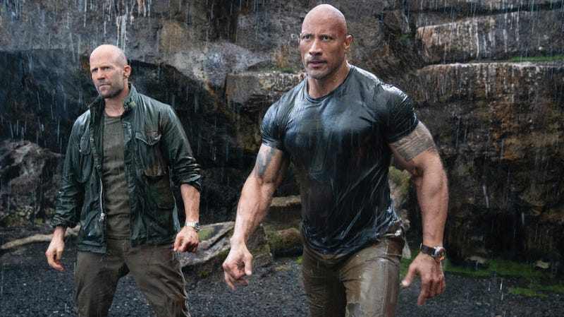 Illustration for article titled Weekend Box Office: Hobbs, Shaw, and the siren's call of openly silly action