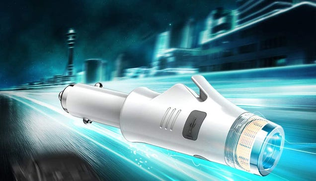 Get 50% off This 9-in-1 Car Charger Which Also Functions as a Seatbelt Cutter and Window Breaker