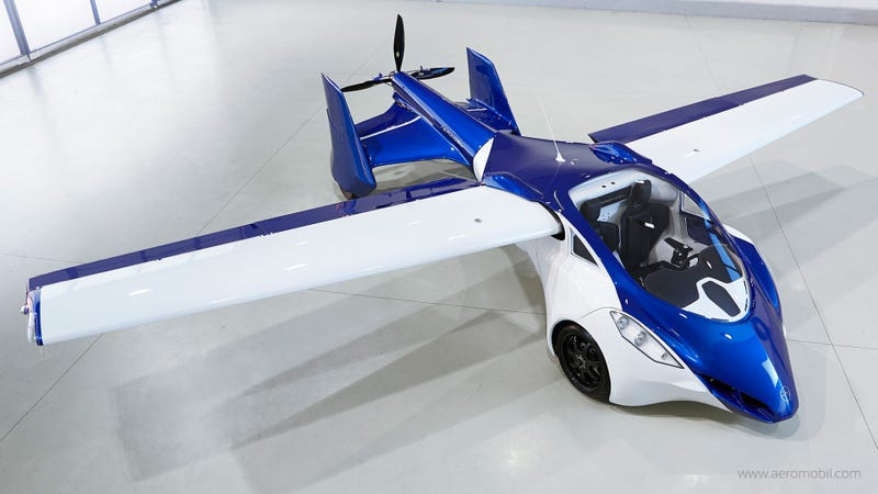 Illustration for article titled People Still Insist This Flying Car Will Arrive By 2017, Despite Crash