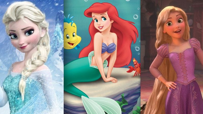 Illustration for article titled A new, crazy fan theory connects Frozen, Tangled, and The Little Mermaid