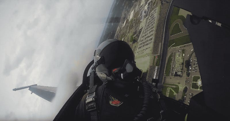 This Onboard of the Indy 500 Flyover Is the Coolest Thing You'll See All Day