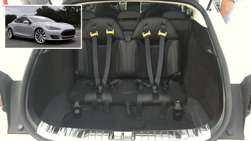 why tesla 39 s model s has jump seats from a 39 60s wagon. Black Bedroom Furniture Sets. Home Design Ideas