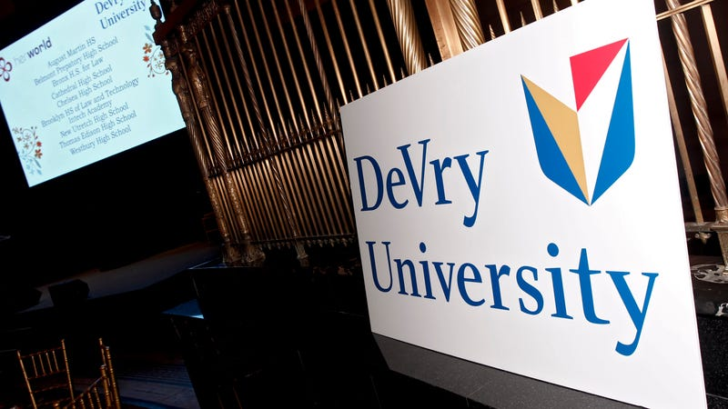 DeVry University Pays Million For Deceiving Students - Devry university game design