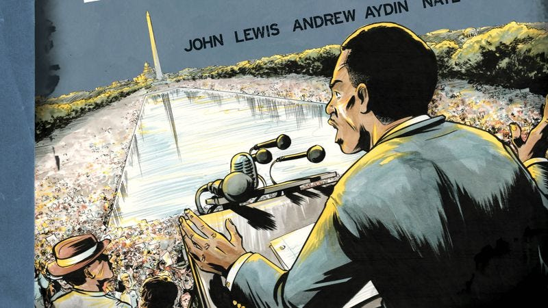 Illustration for article titled John Lewis' March offers a harrowing look at the civil rights movement