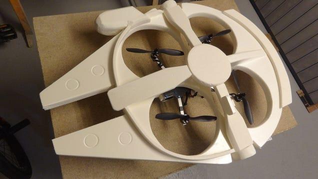 Cómo convertir tu cuadricóptero en una réplica del Halcón Milenario