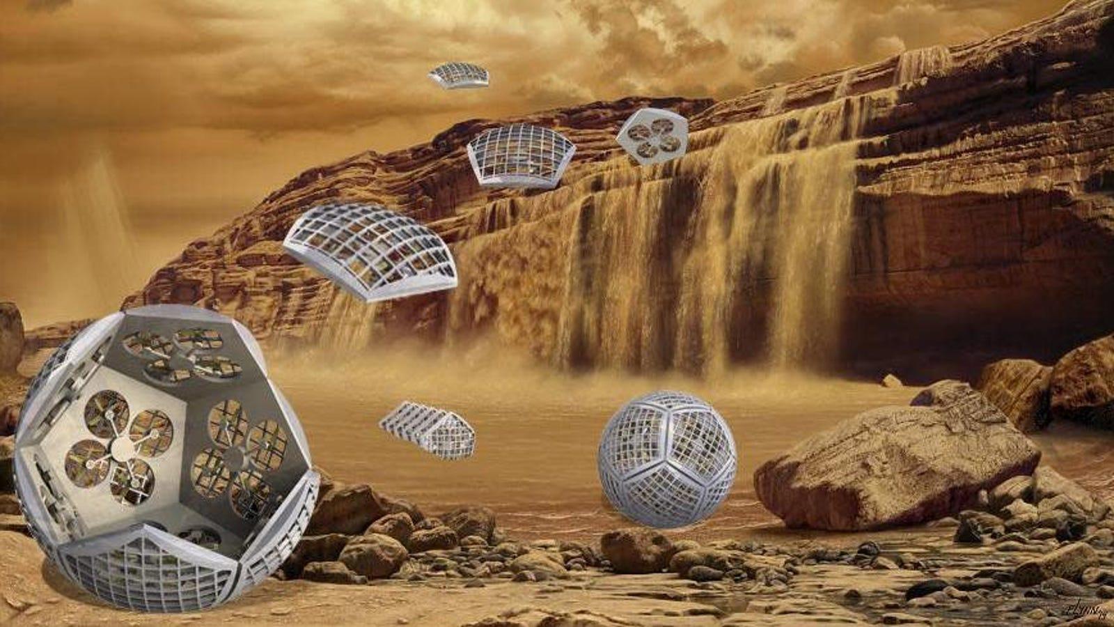 Cool NASA Concept Envisions a Shapeshifting Robot to Explore Saturn's Moon Titan