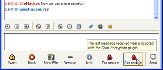 Illustration for article titled Geek to Live:  Encrypt your instant messages with Gaim