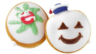 Illustration for article titled Krispy Kreme Is Selling Ghostbusters Donuts