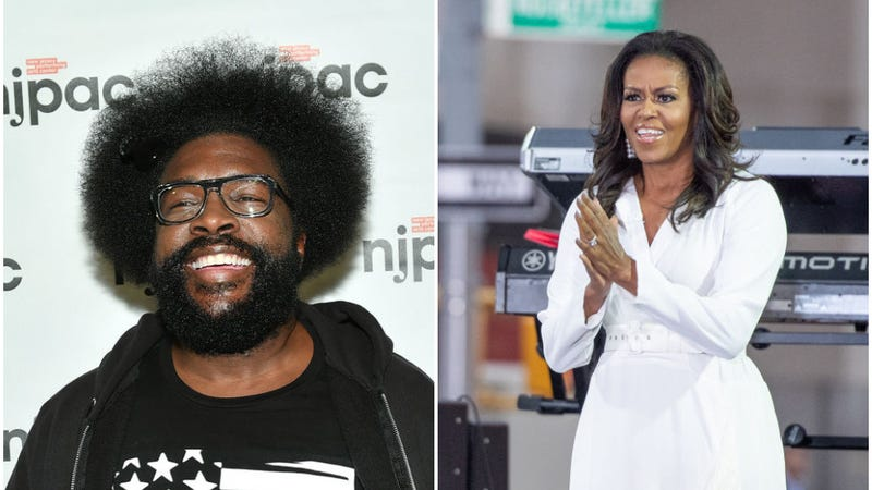 Illustration for article titled Questlove's 300-track playlist for Michelle Obama is predictably excellent