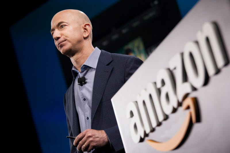 Amazon.com founder and CEO Jeff Bezos in 2014