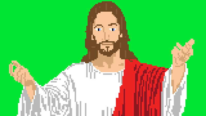 Illustration for article titled Could a Video Game Start A Religion?