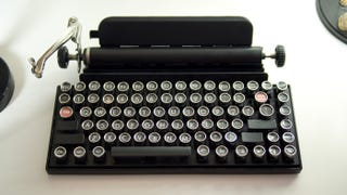 Illustration for article titled This Vintage Typewriter Is Actually a Keyboard For Your Tablet
