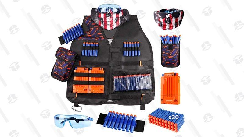 Kids Tactical Vest Kit for Nerf Guns N-Strike | $18 | Amazon