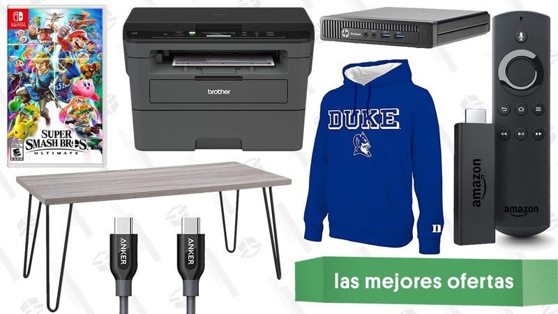 Illustration for article titled Las mejores ofertas de este lunes: Muebles asequibles, 20% en videojuegos, impresora láser y más