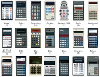 Illustration for article titled And now, 582 vintage calculators for your viewing pleasure